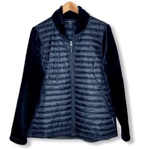 32 Degree Heat Mixed Media Down Faux Fur Jacket